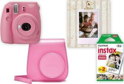 Fujifilm Instax Mini 9 Big Box ružový