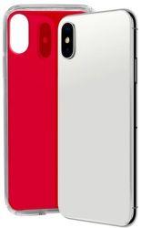 SBS Glue TPU puzdro pre Apple iPhone X/Xs, červená