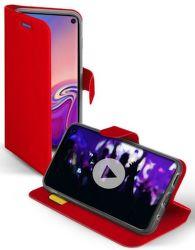 SBS Book Sense puzdro pre Samsung Galaxy S10, červená