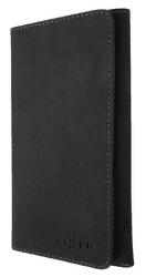 Fixed Pocket Book kožené puzdro pre Apple iPhone X/Xs, tmavosivá