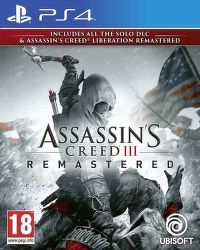 Assassin's Creed III Remastered, PS4 hra