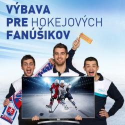Výbava pre hokejových fanúšikov
