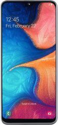Samsung Galaxy A20e biely
