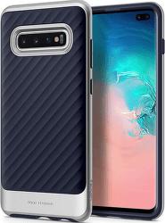 Spigen Neo Hybrid puzdro pre Samsung Galaxy S10+, strieborná