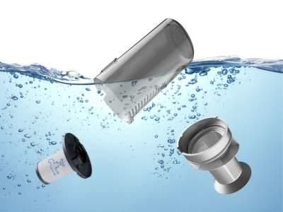 99% filtrácia Rowenta RH9690WO Xforce Flex 8.60 Aqua 3v1