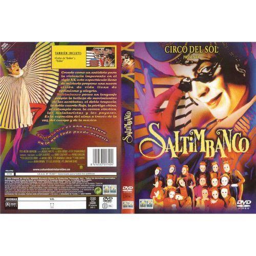 DVD F - CIRQUE DU SOLEIL - SALTIMBANCO