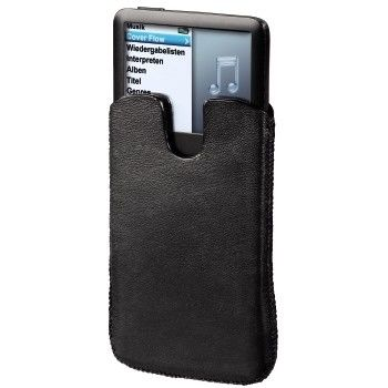 86191 Hama Leather Case for iPod Classic 120 GB, black