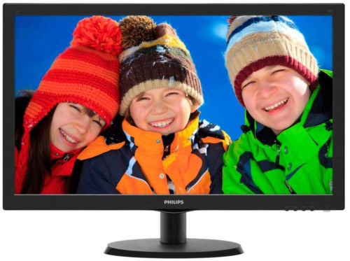Philips 223V5LSB210 černý - monitor