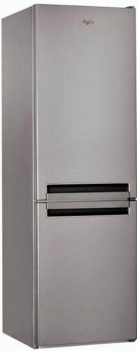 WHIRLPOOL BSF 8353 OX - strieborná kombinovaná chladnička