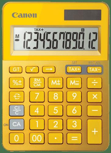 Canon  LS-123K-MYL, 9490B006AA (žlutá) - osobní kalkulačka