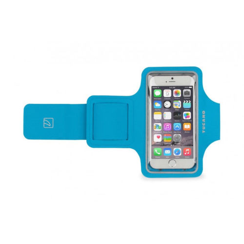 "Tucano Ultra Slim Smartband púzdro pre mobily do 4.7"" (modré)"