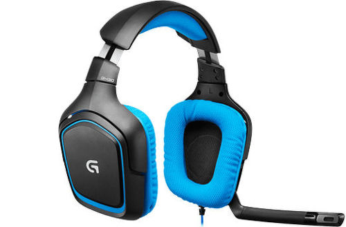 Logitech Gaming Headset G430 (modrý)