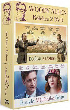 Woody Allen kolekce: Kouzlo měsíčního svitu + Do Říma sláskou - 2xDVD