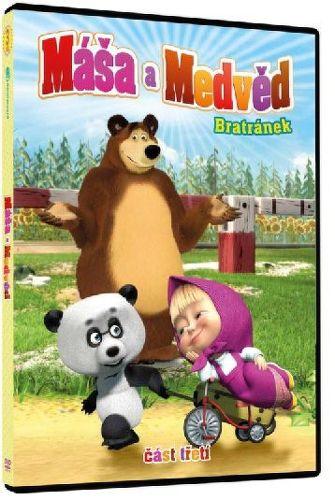 Máša a Medveď 3 - Bratránek - DVD film