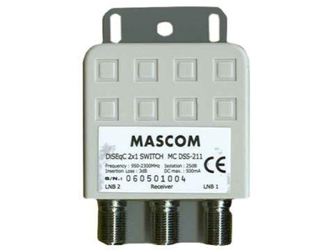 Mascom LNB-MCDSS211 - DiSEqC
