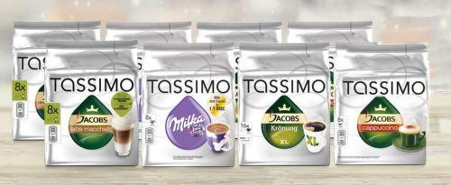 TASSIMO MIX KRT 8 ks, Kapsul. káva mix