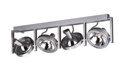 PHILIPS 53064 FUTURA bar spot aluminium 4x60W 23