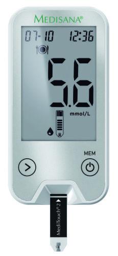 MEDISANA 79046 MediTouch2, Pripojiteľný glukomer (mmol/l)