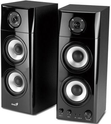 Genius SP-HF2.0 1800A (čierne drevené) - 2.0 reproduktory