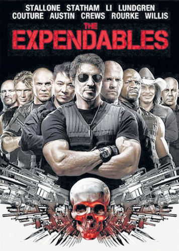 DVD F - Expendables