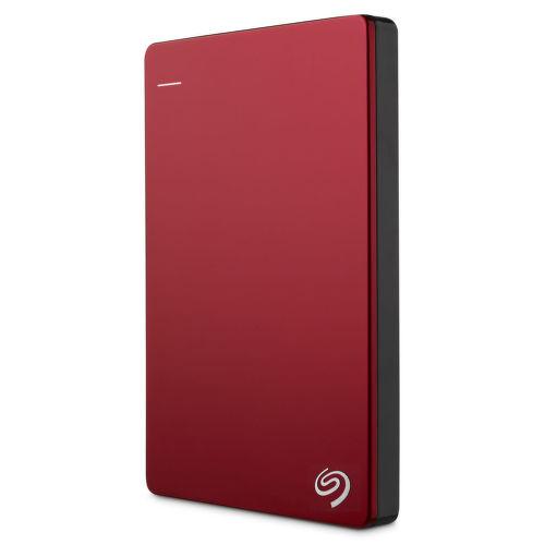 Seagate Backup Plus Slim 2TB (červený)