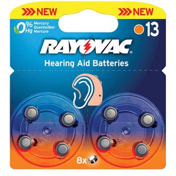 RAYOVAC VARTA Bat. do nač. prístrojov Typ 13 6+2ks v blistry