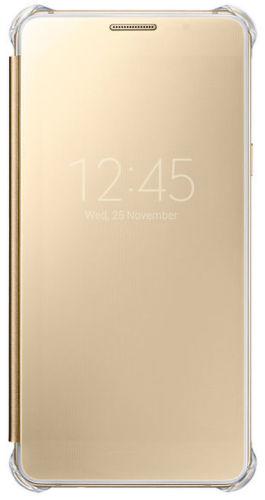 Samsung EF-ZA510CF ClearView Cover A5, A510 (zlatý)