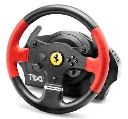 THRUSTMASTER T150 Ferrari (4160630) - volant a pedále (PC, PS3, PS4)
