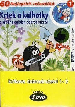 DVD F - Krtkova dobrodružství 1 – 3 (3 DVD)