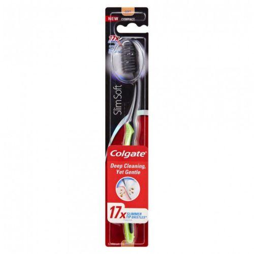 COLGATE Slim Soft Charcoal