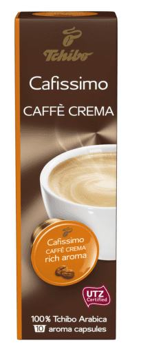 TCHIBO Cafissimo Caffé Crema Rich Aroma 80g