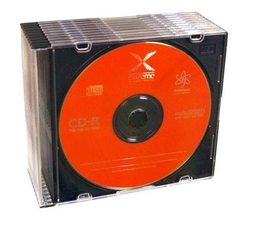 ESPERANZA 2038 CD-R EXTREME - SLIM CASE 10 ks pack