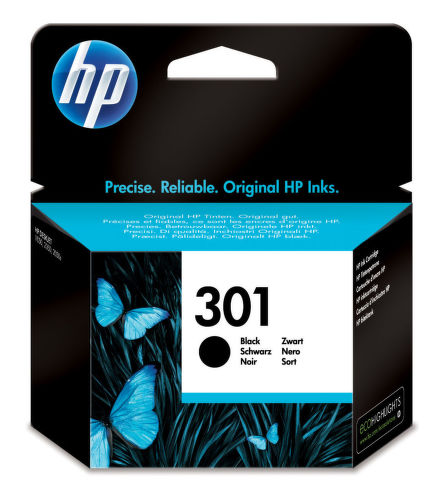 HP CH561EE No.301 black - atrament