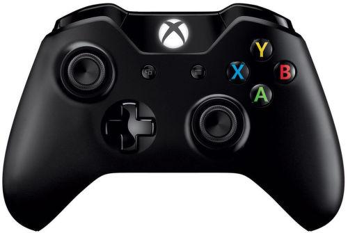 Microsoft Xbox One S Controller (čierna) - herný ovládač