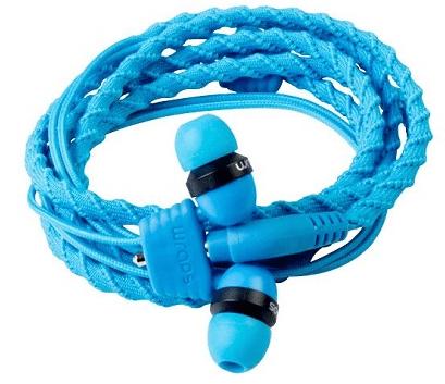 Wraps Classic Káblové slúchadlá (modré)
