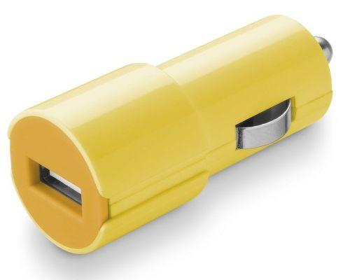 CellularLine Style&Color Autonabíjačka (žltá)