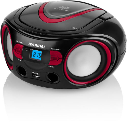 Hyundai TRC 533 AU3BR - rádioprijímač (čierno-červený)1