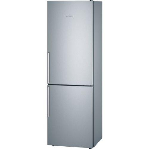 BOSCH KGE36AL42 - strieborná kombinovaná chladnička