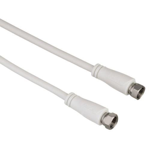 Hama 122435 SAT propojovací kabel F-vidlice - F-vidlice - 90 dB, 3 m