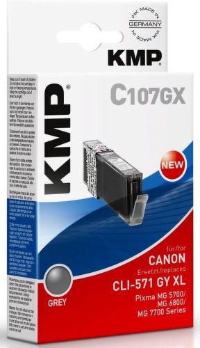 KMP CLI571GY XL, C107GX recyk. náplň