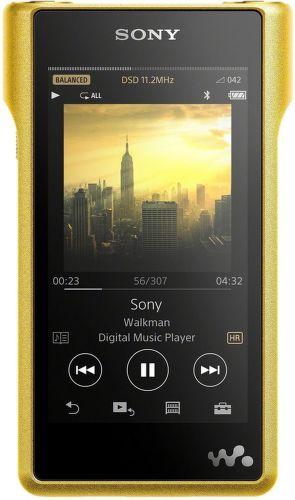 Sony NWWM1ZN.CEW 256GB Walkman (zlatý)