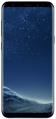 SAMSUNG Galaxy S8Plus_Midnight Black