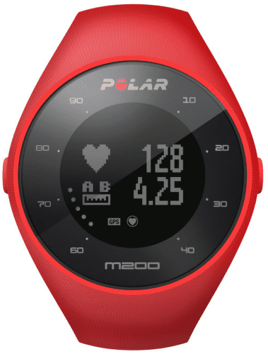POLAR M200 RED, Sporttester s GPS