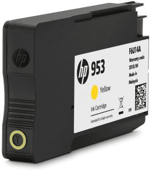 HP No.953 YEL, Atrament (kartón)