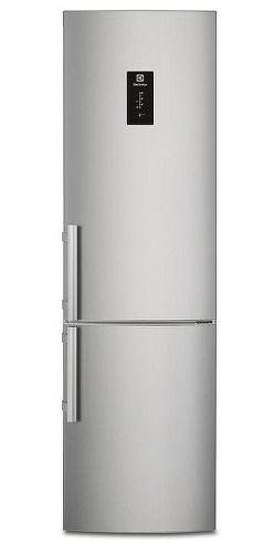Electrolux EN3390MOX, nerezová kombinovaná chladnička