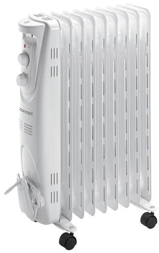 CONCEPT RO3209, biely olejový radiátor