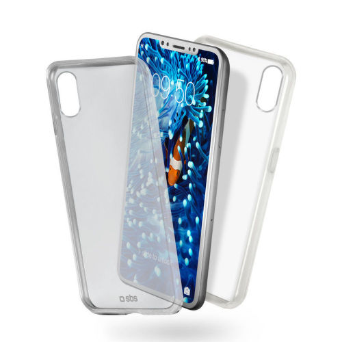 SBS Clear Fit puzdro pre iPhone X a Xs, transparentná