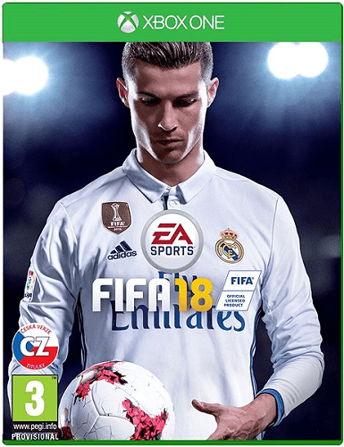 ELECTRONIC FIFA 18, Xbox ONE hra_01