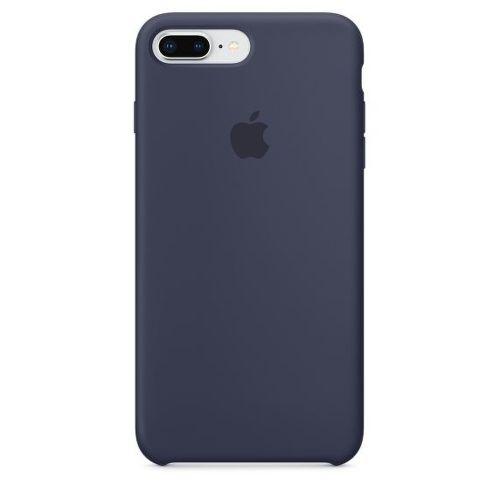 APPLE Silicone Case pre iPhone 8+/7+, polnočná modrá_01