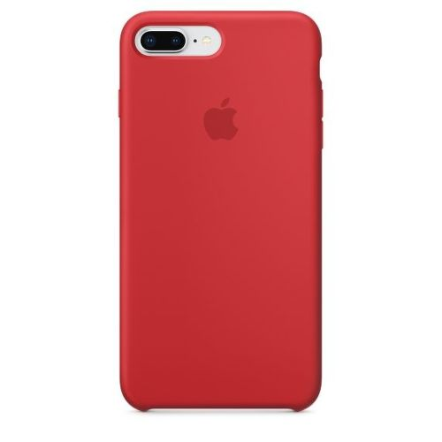 APPLE Silicone Case pre iPhone 8+/7+, červená_01